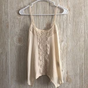 Romantic Lace Cream Tunic